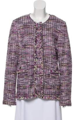 St. John Tweed Button-Up Jacket w/ Tags