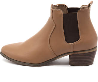 Verali Sally-ve Camel Boots Womens Shoes Casual Ankle Boots