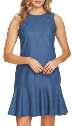 CeCe Bow Back Denim Dress