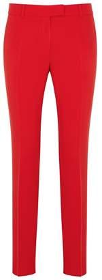 Max Mara Nurra Red Slim-leg Trousers