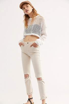 Free People Rolla's Miller Skinny Destroyed Jeans