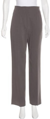 Fendi High-Waist Wool Pants