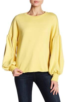 Harlowe & Graham Balloon Sleeve Sweatshirt