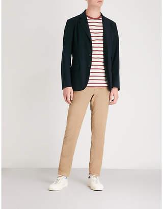 SLOWEAR Single-breasted piqué jacket