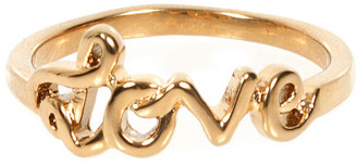 Rebecca Minkoff Love Ring in Gold