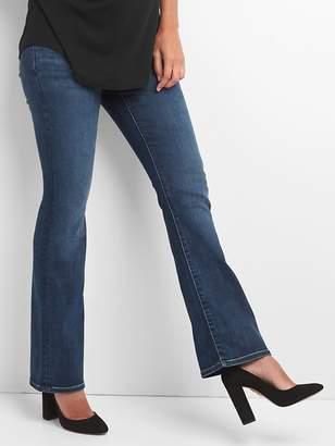 Gap Maternity Demi Panel Perfect Boot Jeans