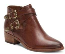 Frye Ray Western Leather Booties
