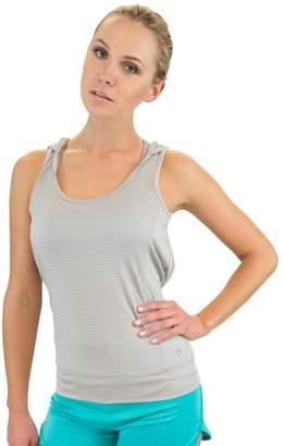 Colosseum Women's Sleeveless Drop Needle Sleeveless Yoga Hoodie