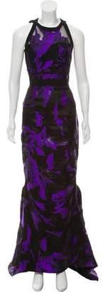 J. Mendel Satin Evening Gown