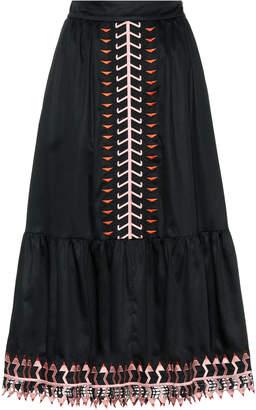 Temperley London Agnes cotton skirt