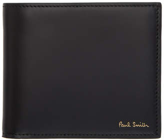 Paul Smith Black Bifold Naked Lady Wallet