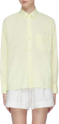 Vince Boxy cotton-silk shirt