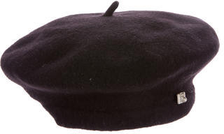 Paul Smith Embellished Wool Beret $65 thestylecure.com