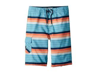 Billabong Kids All Day OG Stripe Boardshorts (Big Kids)