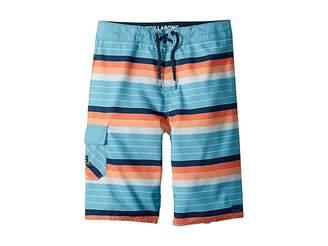 Billabong Kids All Day OG Stripe Boardshorts (Big Kids)