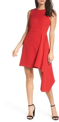 Chelsea28 Asymmetrical A-Line Dress