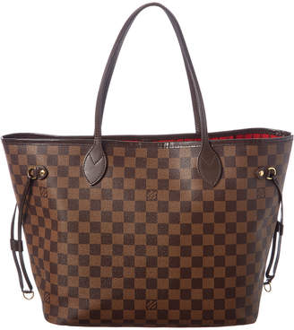 Louis Vuitton Damier Ebene Canvas Neverfull Mm