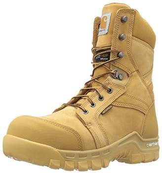 """Carhartt Men's 8"""" Rugged Flex Insulated Waterproof Breathable Safety Toe Leather Work Boot CMF8358"""