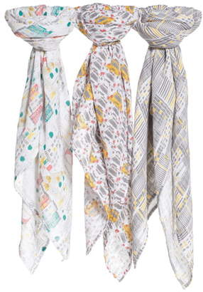 Aden Anais aden + anais White Label 3-Pack Swaddling Cloths
