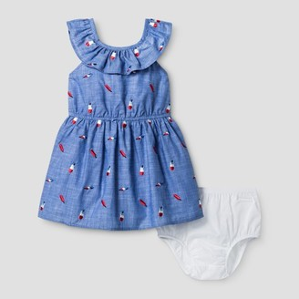 Cat & Jack Toddler Girls' A Line Popsicle Print Dress Cat & Jack - Chambray $14.99 thestylecure.com