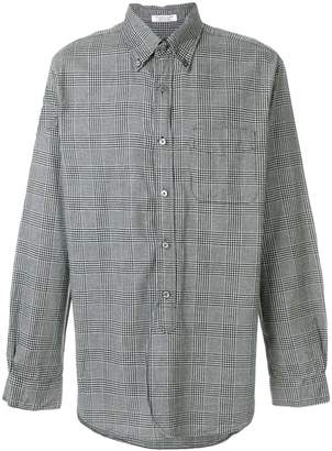 Engineered Garments houndstooth check shirt