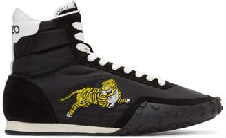 Kenzo Black Move High-Top Sneakers