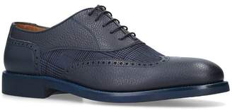 Stemar Leather Check Oxford Brogues