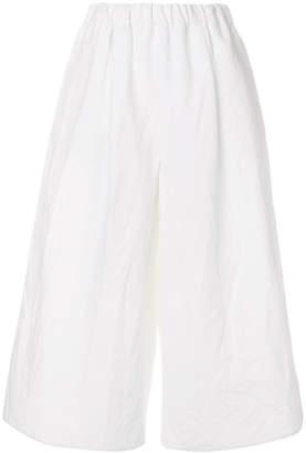 Dusan wide leg cropped pants