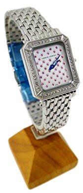 Charles Jourdan (シャルル ジョルダン) - 腕時計CHARLES JOURDAN(シャルルジョルダン)98.22.3 レディース ダイヤモンド ルビー 埋め込み