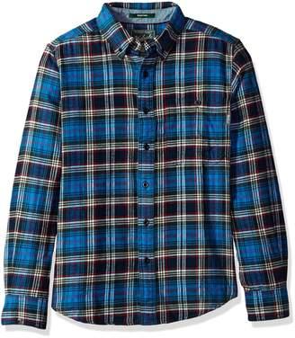 Woolrich Men's Trout Run Flannel Shirt Modern Fit