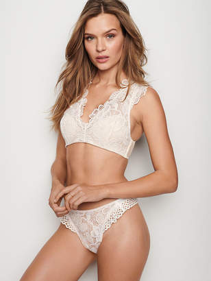 Victoria's Secret Dream Angels Eyelet High-leg Thong Panty