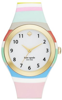 Women's Kate Spade New York 'Rumsey' Plastic Strap Watch, 30Mm $150 thestylecure.com