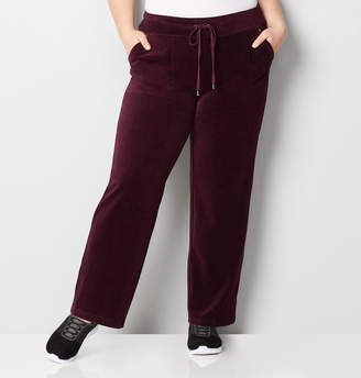 Avenue Stone Rivets Velour Active Pant