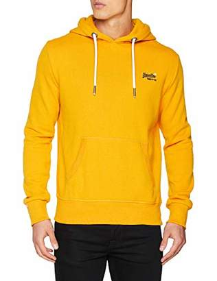 Superdry Men's Orange Label Hood Jumper,XX-Large (Size: 2)