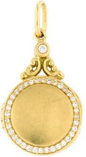 Penny Preville 18K Diamond Locket Pendant