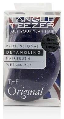 Tangle Teezer NEW The Original Detangling Hair Brush - # Purple Glitter (For Wet