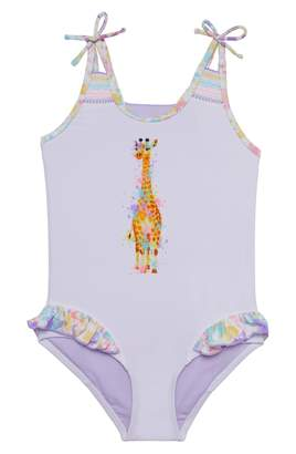 Hula Star Splish Splash Giraffe One-Piece Swimsuit