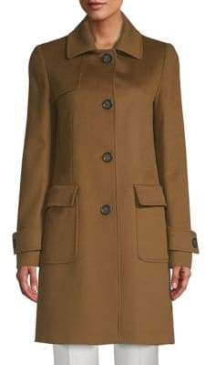 Cinzia Rocca Four-Button Wool Coat