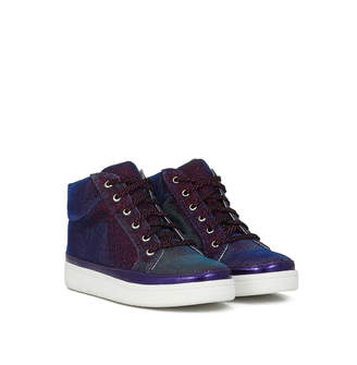 6216dfbf1a38 Sam Edelman Girls Blane Jazzy High-Top Sneaker