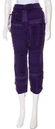 Haider Ackermann High-Rise Straight-Leg Pants w/ Tags