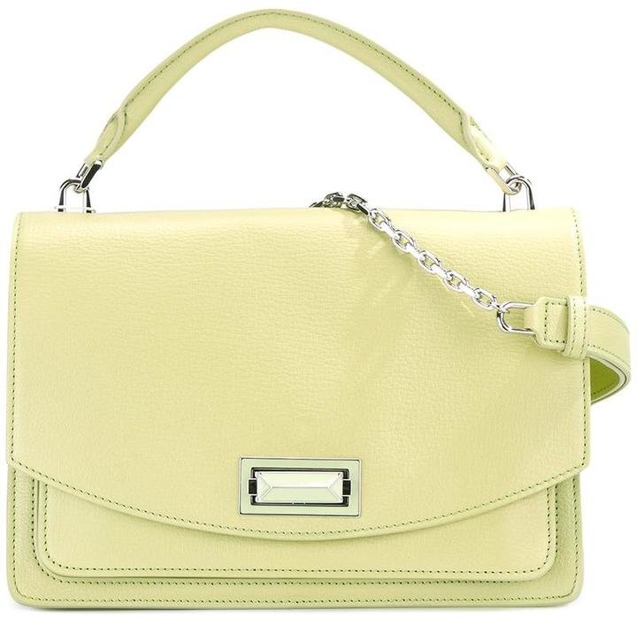 Max Mara Max Mara flap front shoulder bag