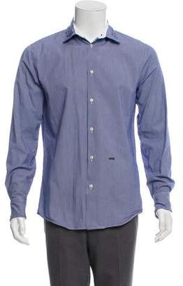 DSQUARED2 Striped Woven Dress Shirt