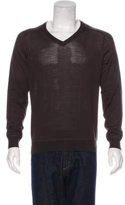 Malo Wool & Leather Sweater w/ Tags