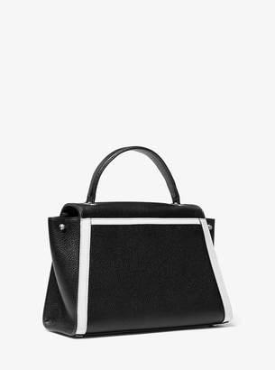 MICHAEL Michael Kors Whitney Medium Pebbled Leather Satchel