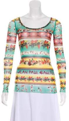 Jean Paul Gaultier Soleil Photographic Long Sleeve Top