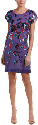 Hale Bob Sequin Shift Dress