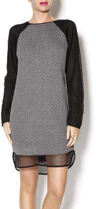 Greylin Jasper Textured Dress