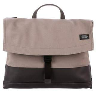 Jack Spade Canvas Messenger Bag silver Canvas Messenger Bag