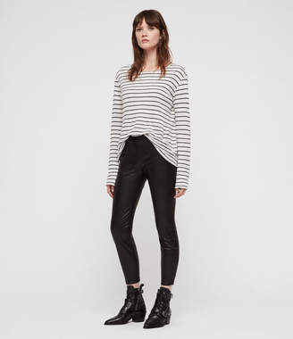 AllSaints Isla Faux Leather Leggings
