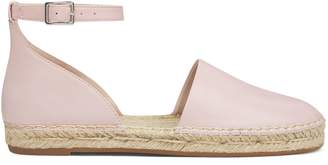 Variable Ankle Strap Espadrille Flats